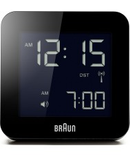 Braun BNC009BK-RC Global Radio Controlled Alarm Clock - Black