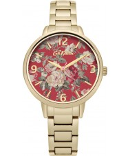 Cath Kidston CKL001GM Ladies Garden Rose Gold Plated Bracelet Watch