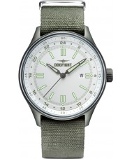 Dogfight DF0029 Mens Ace Green Fabric Strap Watch
