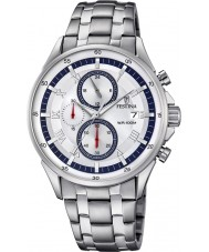 Festina F6853-1 Mens Silver Chronograph Watch