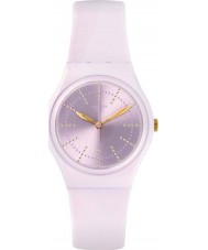 Swatch GP148 Ladies Guinmauve Pink Silicone Strap Watch