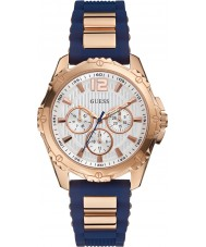 Guess W0325L8 Ladies Intrepid 2 Two Tone Mixed Strap Watch