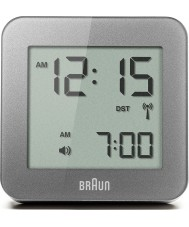 Braun BNC009GY-RC Grey Digital Alarm Clock