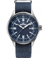 Dogfight DF0030 Mens Ace Blue Fabric Strap Watch