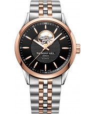 Raymond Weil 2710-SP5-20021 Mens Freelancer Two Tone Steel Bracelet Watch