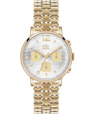 Orla Kiely OK4000 Ladies Frankie Chronograph Hamilton Gold Plated Watch