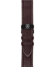 Elliot Brown STR-L05 Mens Canford Oxblood Red Oiled Leather Strap with White Stitching