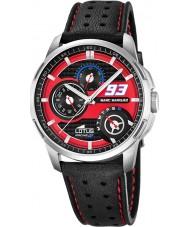 Lotus 18241-2 Mens Marc Marquez Black Leather Strap Watch