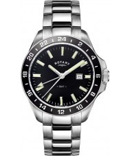 Rotary GB05017-04 Mens Timepieces Havana Silver Tone Steel Watch
