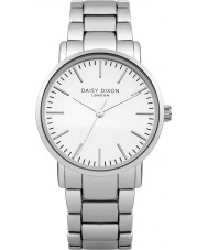 Daisy Dixon DD004SM Ladies Kate Matt Mirror Dial Silver Bracelet Watch