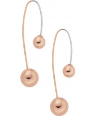Skagen SKJ0856791 Ladies Elin Rose Gold Plated Earrings