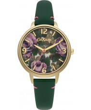 Cath Kidston CKL001NG Ladies Oxford Rose Green Leather Strap Watch