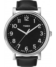 Timex Originals T2N339 Mens All Black Classic Round Watch