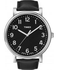 Timex Originals T2N339 Mens All Black Classic Round Watch