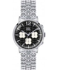 Orla Kiely OK4001 Ladies Frankie Chronograph Silver Tone Watch