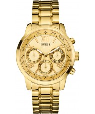 Guess W0330L1 Ladies Sunrise Gold Plated Bracelet Watch