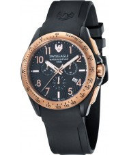 Swiss Eagle SE-9061-05 Mens Field Tactical Black Chronograph Watch