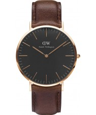 Daniel Wellington DW00100125 Classic Black Bristol 40mm Watch