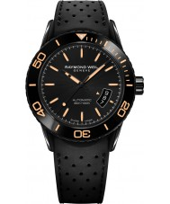 Raymond Weil 2760-SB2-20001 Mens Freelancer Diver Black Rubber Strap Watch