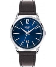 Henry London HL41-JS-0035 Mens Knightsbridge Blue Black Watch