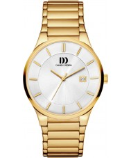 Danish Design Q0501112 Mens Gold Plated Mesh Watch