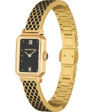Halcyon Days HD4022 Ladies Salamander Original Two Tone Brass Bracelet Watch