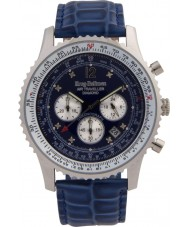 Krug-Baumen 600507DS Mens Air Traveller Diamond Watch