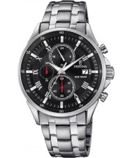 Festina F6853-4 Mens Silver Chronograph Watch