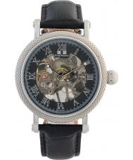 Krug-Baumen 60111DM Mens Prestige Black Leather Strap Watch