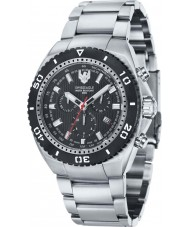 Swiss Eagle SE-9072-11 Men Carrier 316L Marine Grade Silver Steel Chronograph Watch