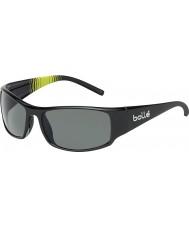 Bolle Prince Jr. Shiny Black TNS Sunglasses