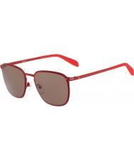 Calvin Klein Platinum Mens CK2136S Deep Red Sunglasses