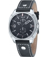 AVI-8 AV-4010-02 Mens Hawker Hunter Black Leather Strap Watch