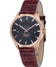AVI-8 AV-4027-03 Mens Hawker Typhoon Light Camel Leather Strap Watch