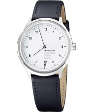 Mondaine MH1-R2210-LB Helvetica No 1 Regular Watch