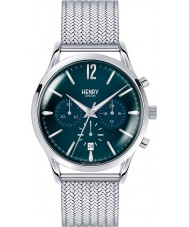 Henry London HL41-CM-0037 Mens Knightsbridge Blue Silver Chronograph Watch