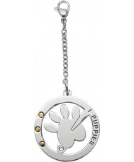 I Puppies PA-005 Dog and Cat Steel Medallion