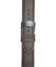 Elliot Brown STR-L07 Mens Canford-Bloxworth Matt Dark Brown Leather Strap