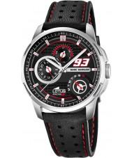 Lotus 18241-4 Mens Marc Marquez Black Leather Strap Watch