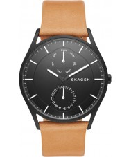Skagen SKW6265 Mens Holst Brown Leather Strap Watch