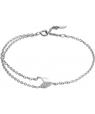 Fossil JF02429040 Ladies Vintage Glitz Silver Arrow Bracelet