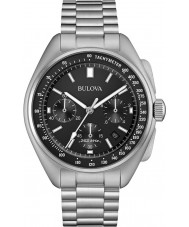 Bulova 96B258 Mens Special Edition Moon Silver Steel Bracelet Watch
