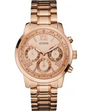 Guess W0330L2 Ladies Sunrise Rose Gold Plated Bracelet Watch