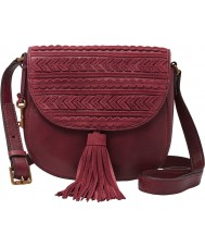 Fossil ZB6963609 Ladies Emi Wine Cross Body Bag