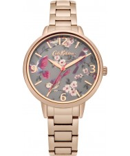 Cath Kidston CKL001RGM Ladies British Birds Rose Gold Plated Bracelet Watch