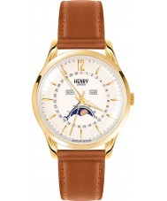Henry London HL39-LS-0148 Westminster Pale Champagne Brown Watch