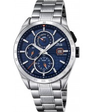 Lotus L18244-5 Mens Silver Multifunction Watch