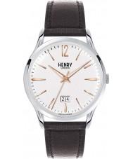 Henry London HL41-JS-0067 Mens Highgate White Black Watch