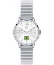 Orla Kiely OK4003 Ladies Frankie Silver Steel Bracelet Watch