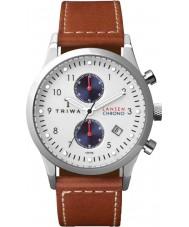 Triwa LCST113-SC010215 Duke Lansen Dark Tan Leather Strap Chrono Watch